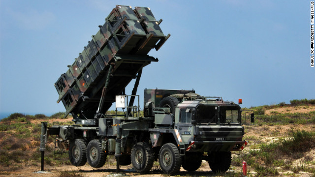 U.S., Jordan discuss placing Patriot missile batteries in Jordan