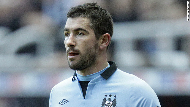 Manchester City's Serbian defender Aleksandar Kolarov allegedly made racist comments to fans waving an Albanian flag.