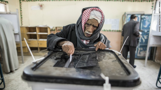 Egyptians vote on controversial constitution