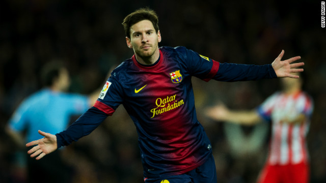 Messi curls home Barca's third and his 89th of 2012 on 57 minutes to seal victory and stretch the team's lead at the top of La Liga.