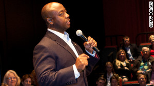 Sen. Tim Scott was appointed last year, representing South Carolina.