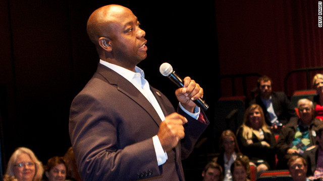 NAACP leader compares Tim Scott to 'dummy' for tea party 'ventriloquist'