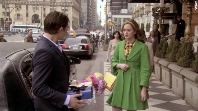 Blair and Chuck went back and forth over whether they were or were not meant to be, and the saga finally paid off for fans at the end of the second season. Chuck returned the &quot;three words, eight letters&quot; that Blair had told him repeatedly: &quot;I love you.&quot; 