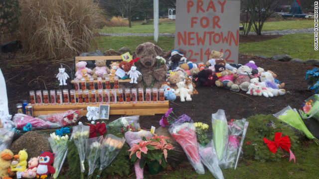 Photos: Newtown grieves