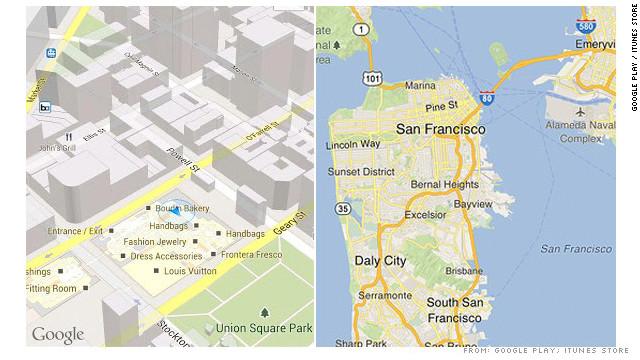 Google Maps: ¿La versión de iPhone es mejor que la de Android?