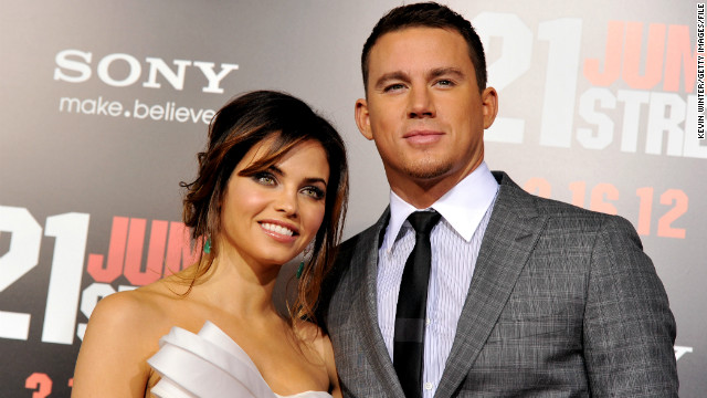 Channing Tatum, wife Jenna are expecting