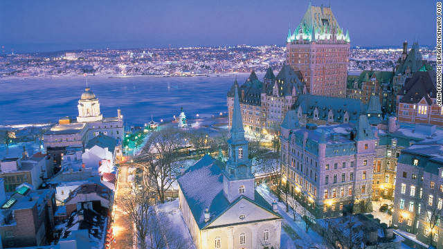 "Condé Nast Traveler announced its 2013 Readers' Choice Awards yesterday. Québec City squeezed into the top 10 of the world's Top 25 Cities, due to its ""old-world charm,"" ""awesome historic assets"" and ""great shopping,"" according to CN Traveler readers."