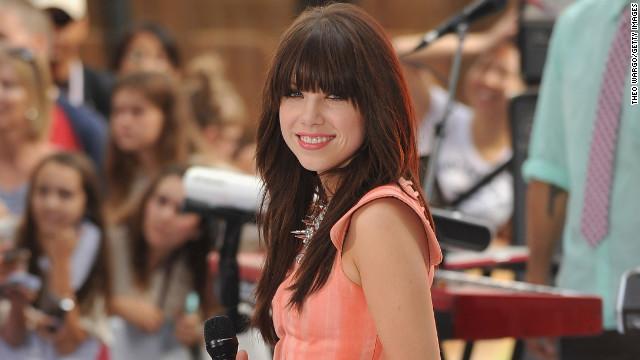 "Carly Rae Jepsen's ""Call Me Maybe"" hit No. 1 on the pop charts and inspired several parodies of its ubiquitous video."