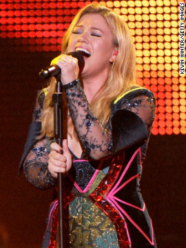 The newly engaged Kelly Clarkson's single &quot;Stronger (What Doesn't Kill You)&quot; was released in January. It's the artist's third single to reach No. 1 on the Billboard Hot 100, following &quot;A Moment Like This&quot; and &quot;My Life Would Suck Without You.&quot;
