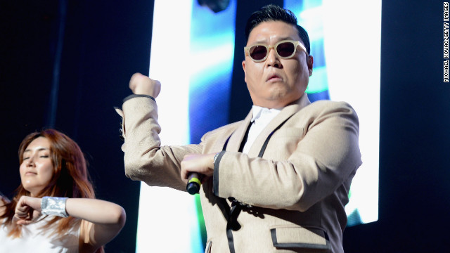Korean pop singer PSY's song &quot;Gangnam Style&quot; became an international sensation. 
