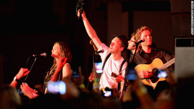 &quot;Ho Hey,&quot; the first single off The Lumineers' self-titled debut album, was released in June. It has spent 27 weeks on Billboard's Hot 100, peaking at No. 4; and it's currently the No. 1 tune on Billboard's Rock Songs chart.