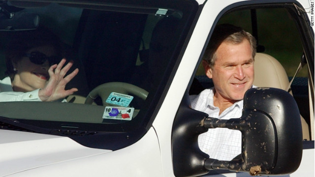 Bush to auction his truck for charity