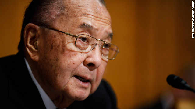 &lt;a href='http://www.cnn.com/2012/12/17/politics/obit-inouye/index.html'&gt;U.S. Sen. Daniel Inouye&lt;/a&gt; of Hawaii, the U.S. Senate's second-longest serving member, has died at 88, his office announced December 17.