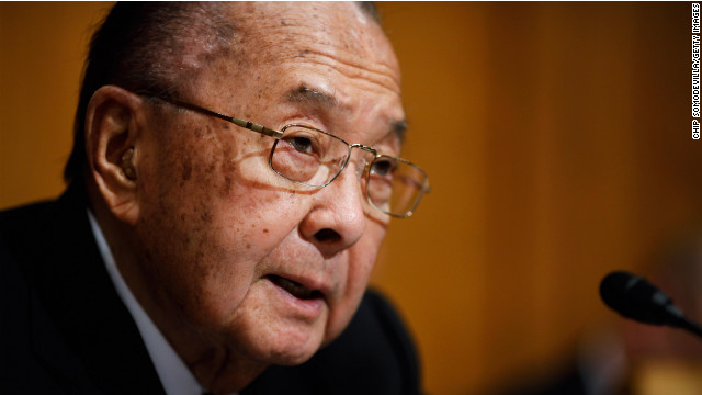 Sen. Daniel Inouye of Hawaii dies