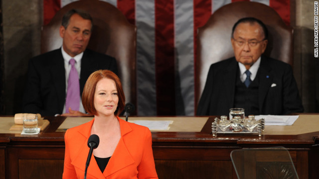 Julia Gillard, the first woman in Australia to hold the position as prime minister, assumed office in 2010. She made a fiery speech about sexism that drew global attention in October. <br/><br/>