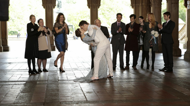 Chuck and Blair's relationship, as Blair's maid Dorota aptly said in the series finale, has had a lot of ups and downs and is nearly too complicated to explain. At least fans got the payoff of Chuck and Blair tying the knot -- albeit not in the most conventional way.