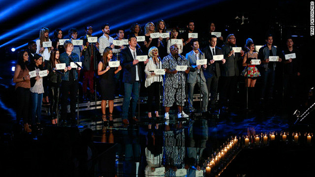 'The Voice' honors Newtown shooting victims