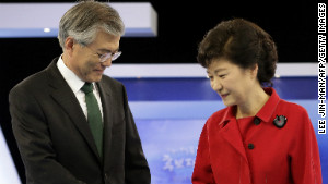 Either Moon Jae-in or Park Geun-hye will be elected as South Korea\'s next president Wednesday.