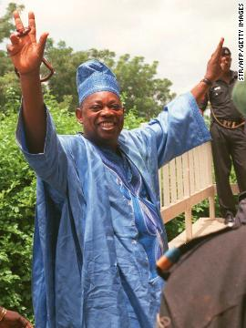 MKO Abiola died in July 1998 while still in custody.