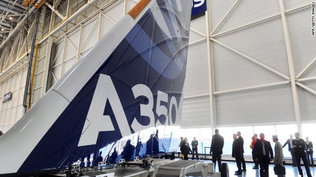 Over at Airbus, the composite A350 was already some 18 months behind schedule when Airbus announced a new delay this year for its planned entry-into-service (EIS) from mid-to-late 2014.