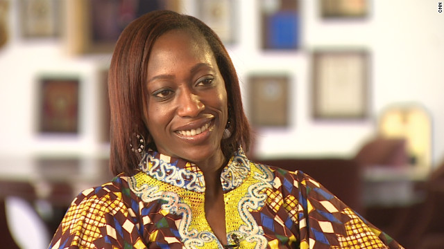Hafsat Abiola is the founder of the Kudirat Initiative for Democracy, a non-governmental organization working to promote women's leadership and raise awareness about domestic violence.