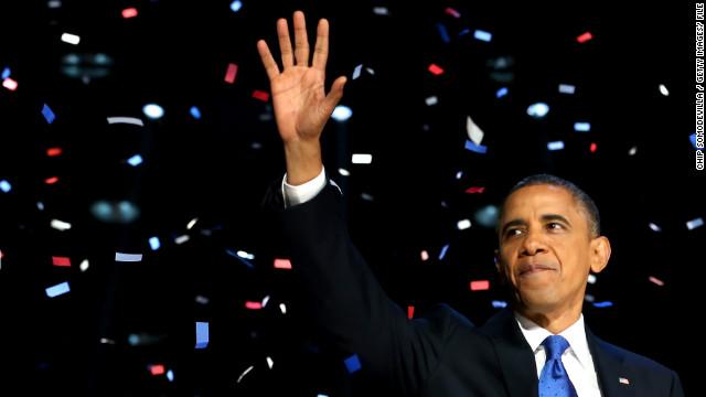 Barack Obama es el Personaje del Año 2012 para la revista Time