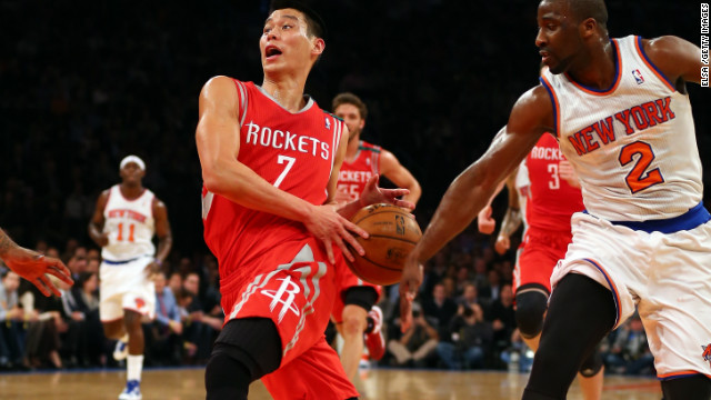&lt;strong&gt;Highest trending athlete: Jeremy Lin: &lt;/strong&gt;Houston Rockets star Jeremy Lin was Google's highest trending athlete of the year. Lin, one of a very few Asian Americans in the NBA, was virtually unknown before he burst on to the New York Knicks side early in 2012. &quot;Linsanity,&quot; the name given to the fervor surrounding him, was the 10th most used meme on Facebook in the U.S this year.
