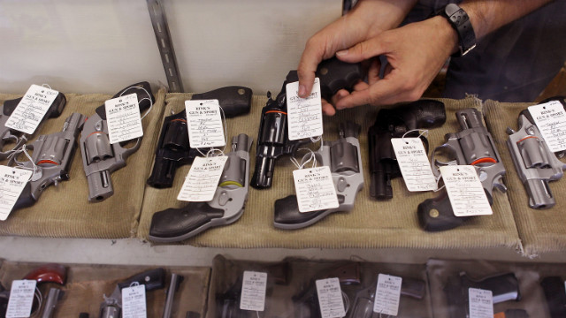 Gun background checks in January were second highest ever, FBI data shows