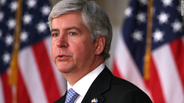 Michigan governor vetoes bill allowing concealed weapons in public places