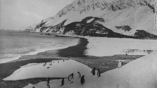 When <i>Endurance</i> finally sank, Shackleton and his men ended up on the remote and uninhabited Elephant Island having spent two years adrift in the Antarctic.