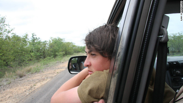 Nadav started the website after growing tired of asking his parents to stop passing motorists in Kruger to ask them what animals they'd seen.