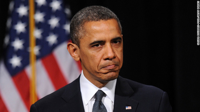 &lt;strong&gt;December 16: &lt;/strong&gt;U.S. President Barack Obama speaks at an interfaith vigil for the shooting victims from Sandy Hook Elementary School at Newtown High School in Newtown, Connecticut.