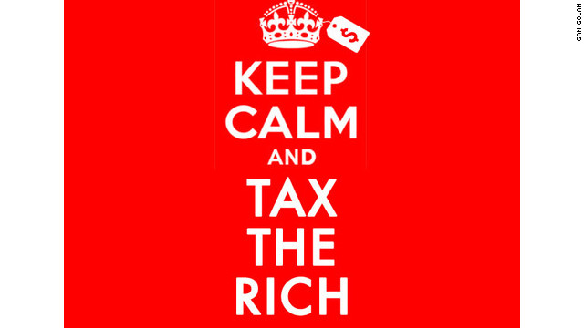 &quot;Keep Calm &amp;amp; Tax the Rich&quot; by Gan Golan