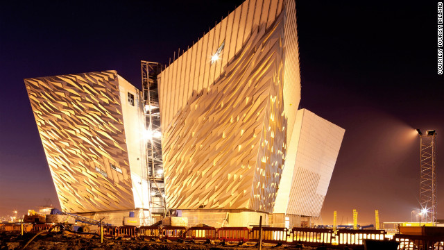 The old Harland and Wolff Shipyard has been reinvented as the Titanic Quarter and is now home to the spectacular Titanic Belfast complex.