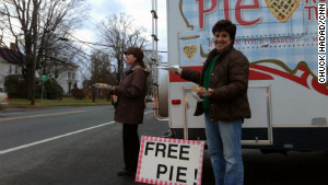 Healing in Newton, one pie at a time