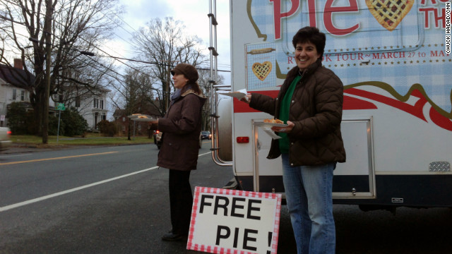 Bringing healing to Newtown, one pie at a time