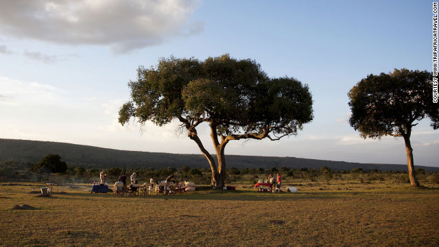 In July, go to Kenya and Tanzania to experience the Great Migration, when thousands of wildebeest and zebras move across the sun-dried landscape of the Serengeti.