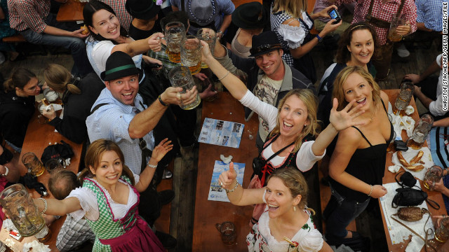 Oktoberfest in Munich is so popular no one wants to wait till October to start; the 2013 event runs from September 21 to October 6.