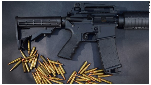 The AR-15s are valued about $800 each.