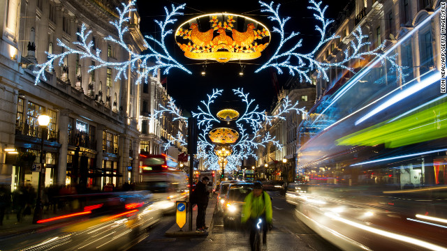 Dickens' sweet-spirited Cratchits left a legacy that England's capital doesn't take lightly. Head to London for a Christmas wonderland.