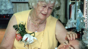 Kathryn O\'Bara with her daughter Edwarda in 2002. After Kathryn died in 2008, Colleen took over caring for her sister.