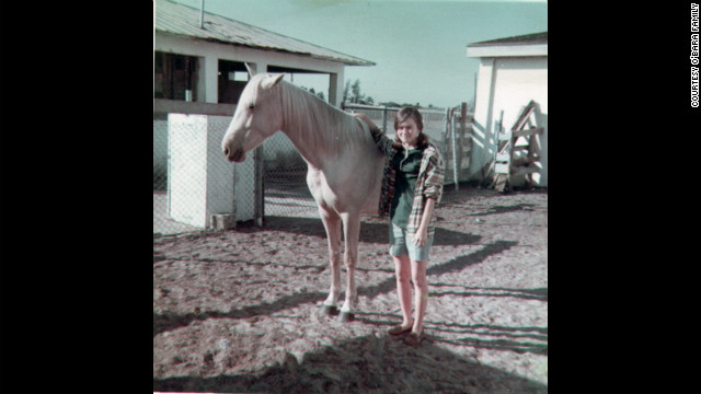 Edwarda with her horse Moonlight in 1967; at a nearby ranch, the sisters' friendship grew. &quot;Colleen had horses, and Edwarda had a pony because she was always the cautious one,&quot; their cousin Pam Burdgick said.