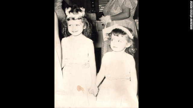 Edwarda and her younger sister Colleen in 1960 -- nine years before Edwarda would fall into a coma. Her cousin Pam Burdgick went to college in South Florida in the 1960s and remembered Edwarda as &quot;a sweet, loving child.&quot;
