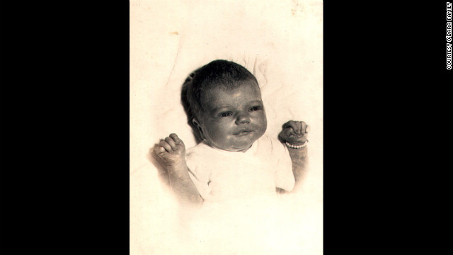 Edwarda O'Bara at 2 days old in March 1953; she was Kathryn and Joe O'Bara's first child. &quot;All I ever wanted in life was to have two girls,&quot; Kathryn once said. &quot;God was very good and granted me my wish.&quot;