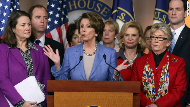Pelosi, House Democrats push for quick action on gun laws