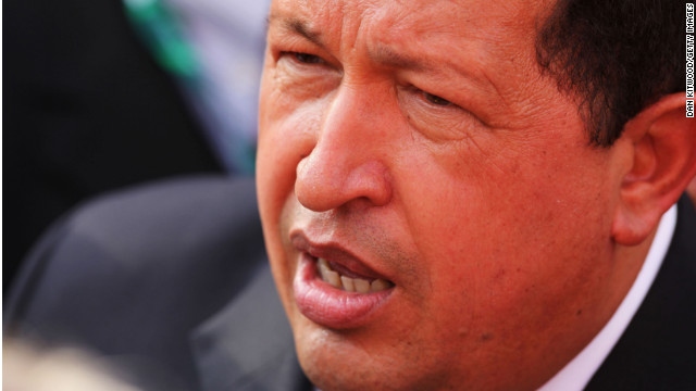 Venezuela's information minister said President Hugo Chavez is battling a respiratory infection.