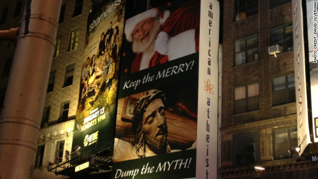 Christmas exposes atheist divide on dealing with religion