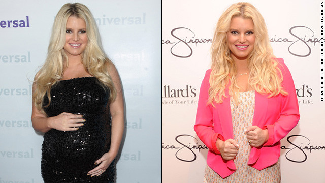 Jessica Simpson has been pretty open about the difficulty she's had shedding the pounds since she gave birth in May. But she celebrates her 50-pound weight loss in a <a href='http://www.youtube.com/watch?v=MFhPXfuMkcw' target='_blank'>new Weight Watchers commercial </a>while not yet responding to reports that she is <a href='http://marquee.blogs.cnn.com/2012/11/28/jessica-simpsons-rep-no-comment-on-pregnancy-report/' target='_blank'>once again expecting</a>.