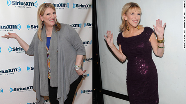 Lisa Lampanelli said she <a href='http://marquee.blogs.cnn.com/2012/10/02/comedian-lisa-lampanelli-loses-80-pounds' target='_blank'>underwent surgery</a> to help her shed 80 pounds and give her a new look.