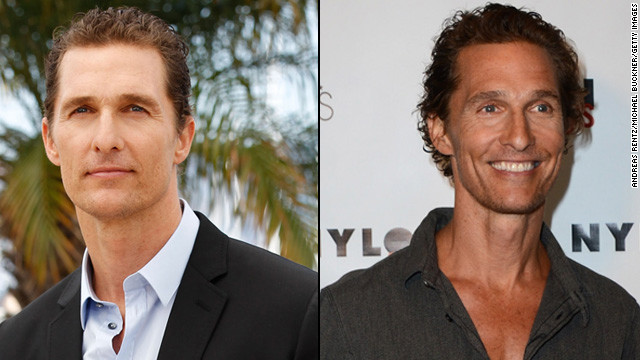 From thong to thin, McConaughey reportedly dropped 40 pounds for a movie role and the transformation was startling on the &quot;Magic Mike&quot; star.